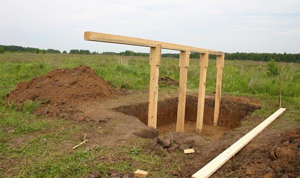 Как быстро сделать столбы